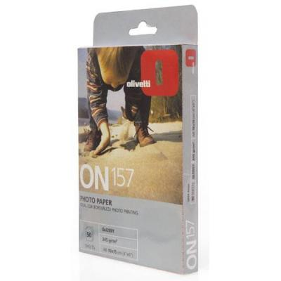 Olivetti Photo paper 10x15cm glossy finish 50-sheet pack Fotopapier