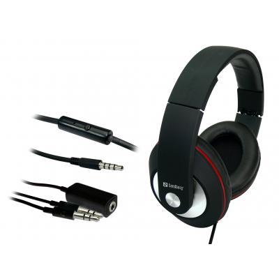 Sandberg headset: Play'n Go Headset Black - Zwart