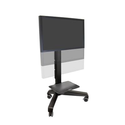 Ergotron Neo-Flex Mobile MediaCenter VHD Multimedia kar & stand - Zwart