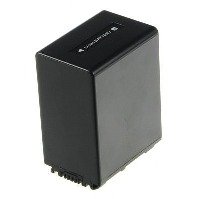 2-Power Camcorder Battery 6.8V 3300mAh - Zwart