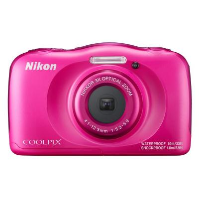 Nikon digitale camera: COOLPIX W100 - Roze