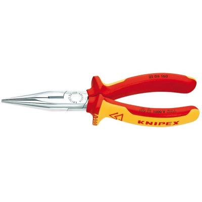 Knipex Snipe Nose Side Cutting Pliers Tang