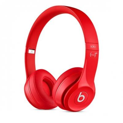 Beats by dr. dre headset: Beats Solo2 - Rood