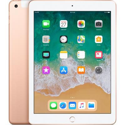 Apple tablet: iPad (2018) WiFi + Cellular 128GB - Goud