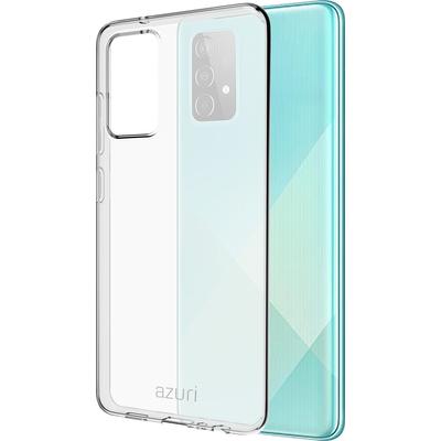 Azuri TPU cover - transparent - voor Samsung Galaxy A52 Mobile phone case - Transparant