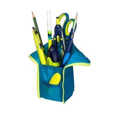 Herlitz potlood case: my.case - Blauw, Geel