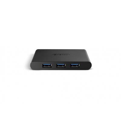 Sitecom USB 3.0 Fast Charging 4 Port Hub - Zwart