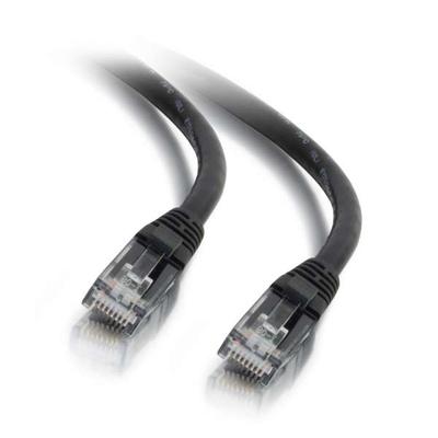 C2G 3m Cat6 UTP LSZH netwerkpatchkabel - Zwart Netwerkkabel