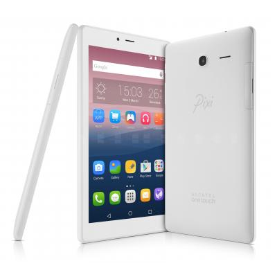 Alcatel tablet: One Touch Pixi 4 7 - Wit