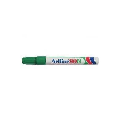Artline 90N Marker - Groen, Wit
