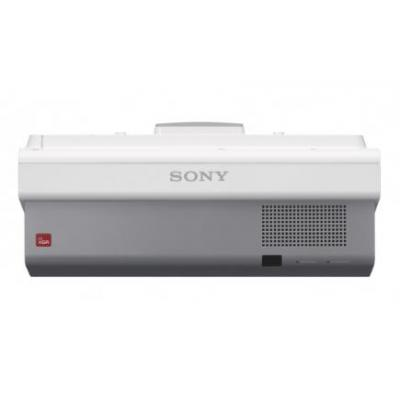 Sony beamer: 3 LCD system, WXGA 1280 x 800, 3300 lm, OSD, 28dB - Grijs, Wit