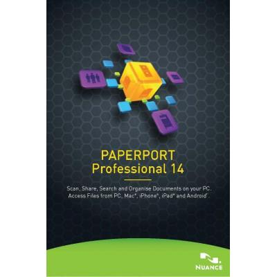 Nuance document management software: PaperPort Professional 14, 501-1000u, EDU