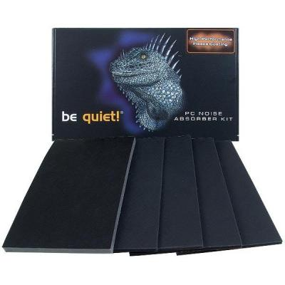 Be quiet! montagekit: Noise Absorber Kit, Universal Midi - Zwart