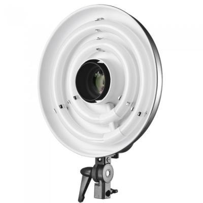 Walimex photo studio flash unit accessoire: Beauty Ring Light, 50W, 230 Lux, 5300-5500K - Grijs