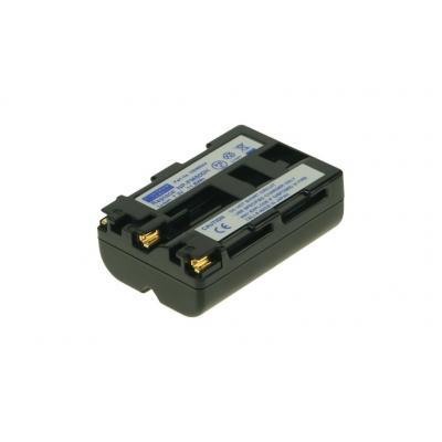 2-Power Digital Camera Battery 7.2V 1400mAh - Zwart