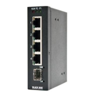 Black Box INDRy II XS PoE Switch - Zwart