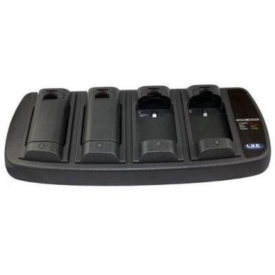 Honeywell 4 Unit Main Battery Charger. Includes power supply. C8 type power cord required Oplader - Zwart