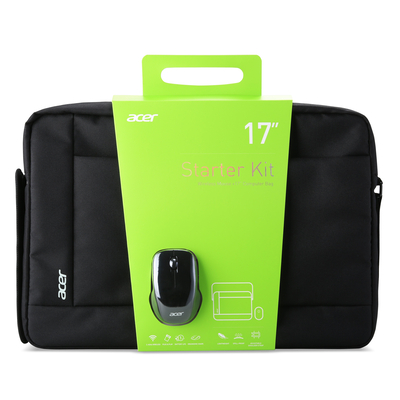 "Acer laptoptas: 17"" Noteboook Starterkit - Zwart"