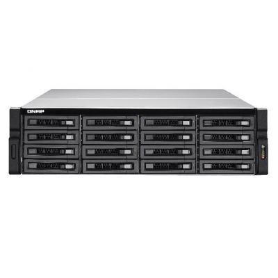 QNAP TS-EC1680U R2 NAS - Zwart, Grijs