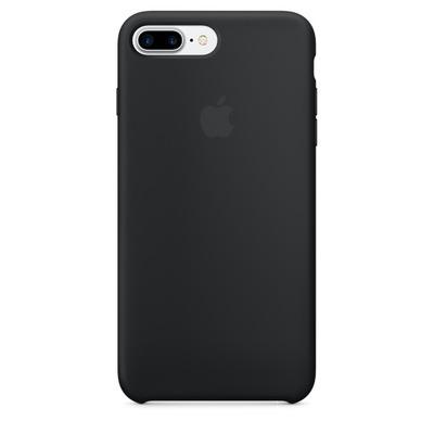 Apple mobile phone case: Siliconenhoesje voor iPhone 7 Plus - Zwart