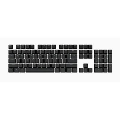 Corsair PBT DOUBLE-SHOT PRO Keycap Mod Kit — Onyx Black (NA) Toetsenbord accessoire - Zwart