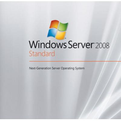 Lenovo Besturingssysteem: Windows Server 2008 R2 Standard, 5 CALs, ROK, ML