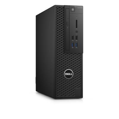 Dell pc: Precision T3420 - Core E3 - 16GB RAM - 256GB SSD - Zwart