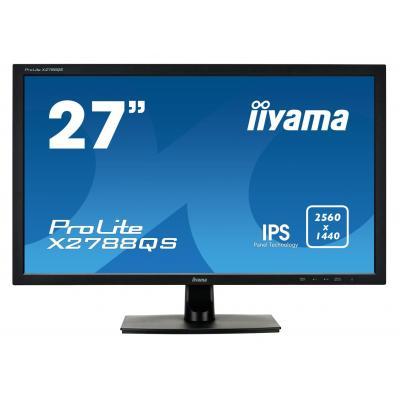 "Iiyama monitor: ProLite 68.58 cm (27 "") , WQHD IPS 2560 x 1440 px, 350 cd/m² , 5 ms, 5000000:1, 16.7M, HDMI, DP, DVI, ....."