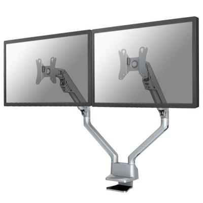 """Newstar monitorarm: Full Motion Dual Desk Mount (clamp & grommet) for two 10-32"""" Monitor Screens, Height Adjustable ....."""