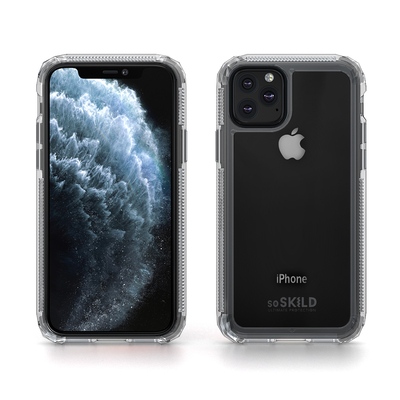 SoSkild iPhone 11 Pro Defend 2.0 Heavy Impact Case Transparant Mobile phone case