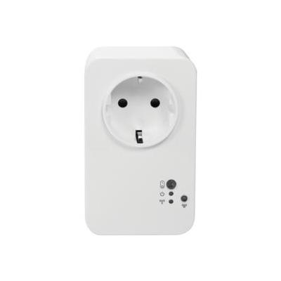 Logilink elektrische meter: LogiSmart Meter Plug Switch, 100 - 240 VAC, 50/60 Hz, 16 A