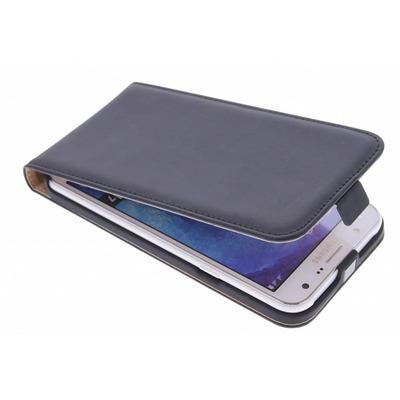 Luxe Hardcase Flipcase Samsung Galaxy J7 - Zwart Mobile phone case