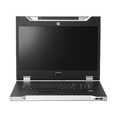 Hewlett packard enterprise rack console: LCD8500 1U INTL Rackmount Console Kit - Zilver, QWERTY