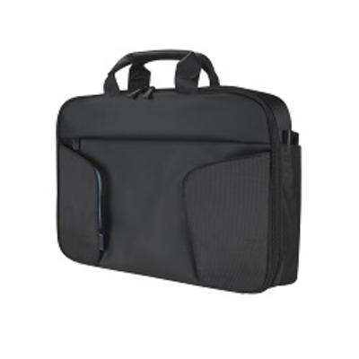 Toshiba CoRace Laptoptas - Zwart, Blauw