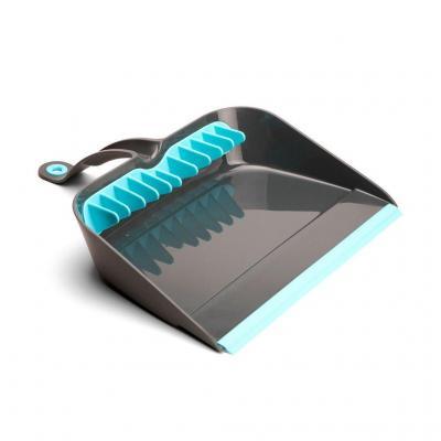 Quirky dust pan: Broom Groomer - Kolen, Turkoois