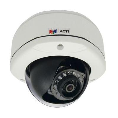 "ACTi 3MP, 1080p, 30 fps, 1/3.2"" CMOS, Fast Ethernet, PoE, 6.27 W, 1006 g Beveiligingscamera - Wit"