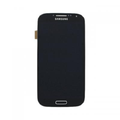 Samsung mobile phone spare part: GT-I9515 Galaxy S4 Value Edition, Complete Front+LCD+Touchscreen, dark black