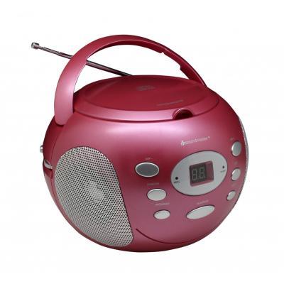 Soundmaster CD-radio: SCD2000 - Roze