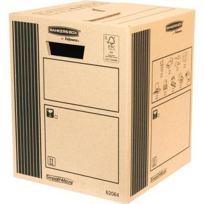 Fellowes SmoothMove Classic 303730 Cargo Box 10pk inpakmateriaal - Zwart, Bruin