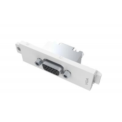 Vision wandcontactdoos: VGA female D module - Wit
