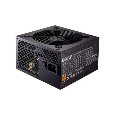 Cooler Master MWE Bronze 650 Power supply unit - Zwart