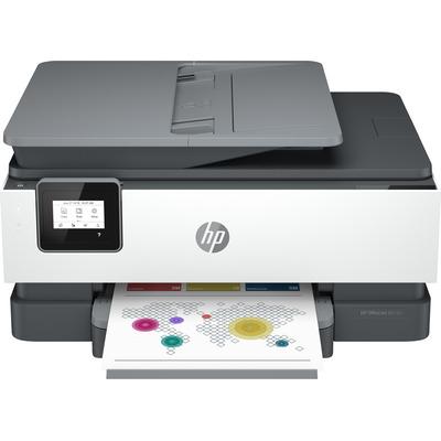 HP 8012e + Multifunctional - Zwart, Cyaan, Magenta, Geel