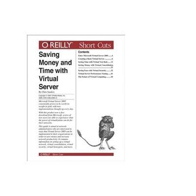 O'reilly O'Reilly Media Saving Money and Time with Virtual Server - eBook (PDF)