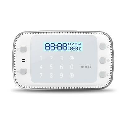 Smanos : GSM/SMS/RFID Touch Alarm System - Wit