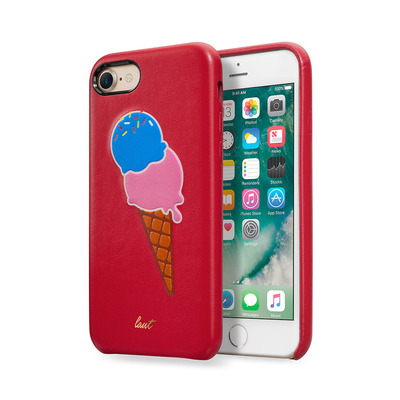 LAUT _IP7_KH_R Mobile phone case - Blauw, Bruin, Roze, Rood