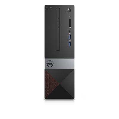 Dell pc: Vostro 3268 - Core i5 - 4GB RAM - 500GB - Zwart, Zilver