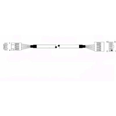 Supermicro CBL-0341L USB kabel