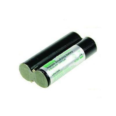 2-power batterij: PTH0094A- NiMH, 4.8V,2200mAh, 215g, black/silver - Zwart, Zilver