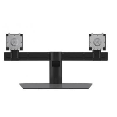 DELL Dual Monitor Stand Monitorarm - Aluminium, Zwart
