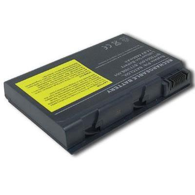 Acer batterij: Battery 8-cell Li-Ion 4800mAh - Zwart